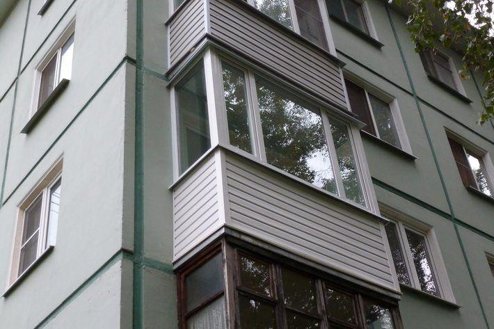 Балкон по ул.Чкалова