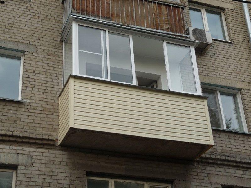 Балкон на ул. Правды