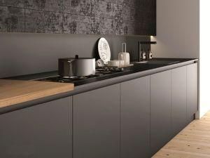Кухни с фасадами из FENIX NTM из металла на заказ по индивидуальному дизайну