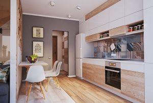 Кухни с фасадами из ЛДСП из металла на заказ по индивидуальному дизайну